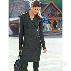 Grey Athleta Chalet Sweater Dress